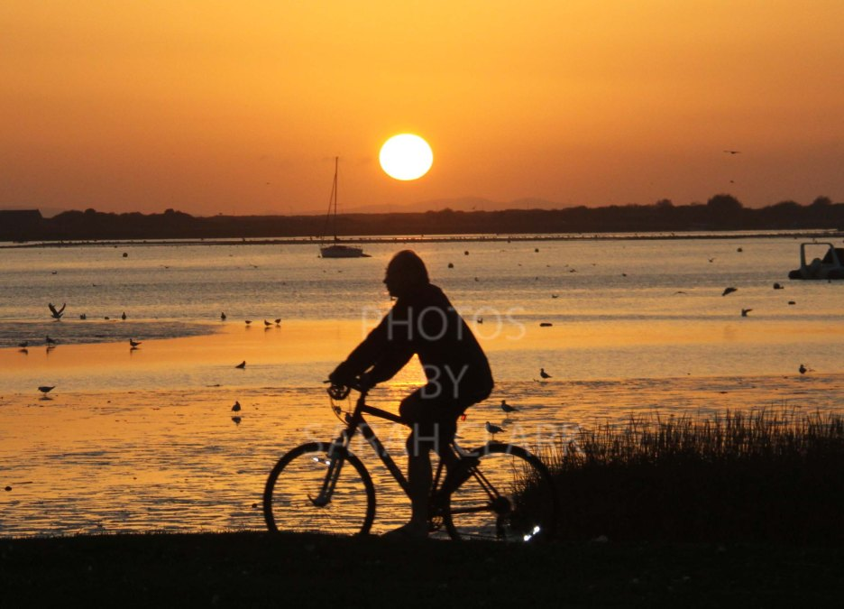 bike sunset 2